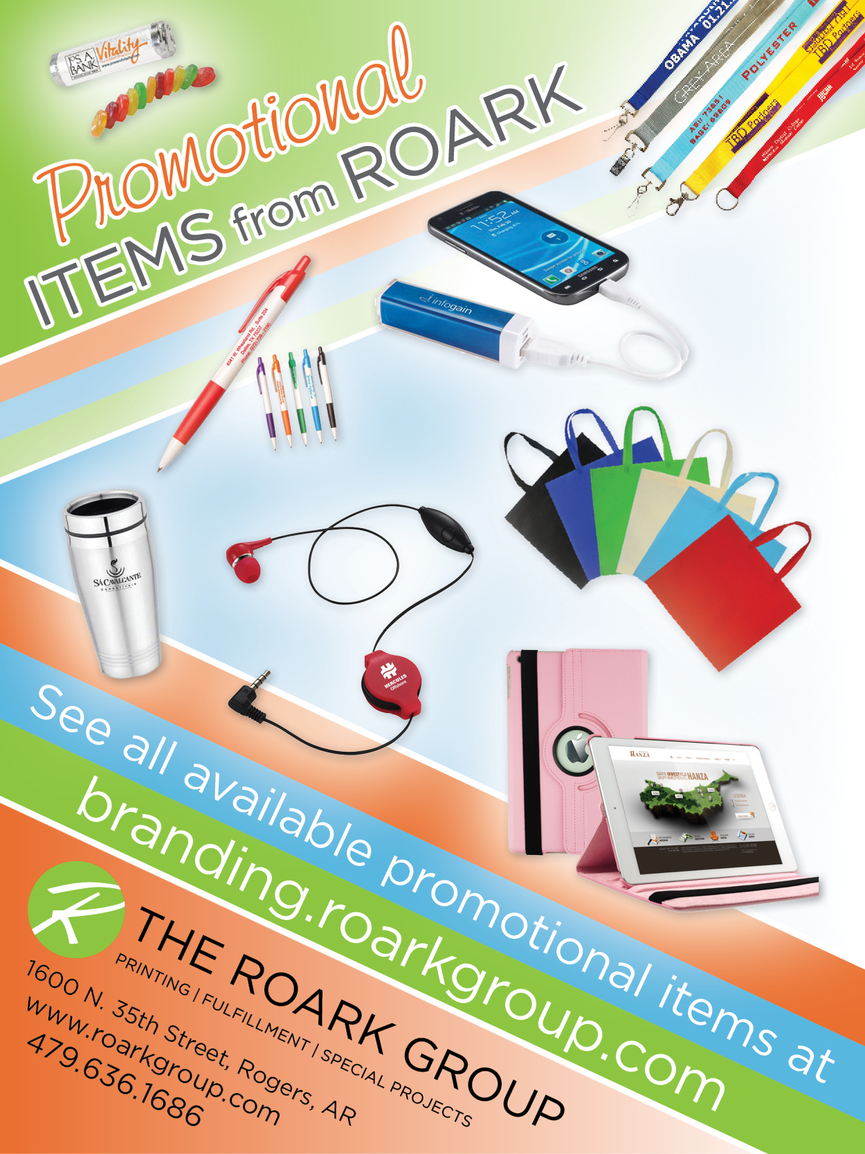 RoArk Promotional Items